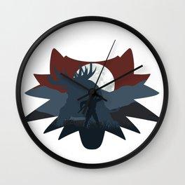 The beast hunt (v2) Wall Clock