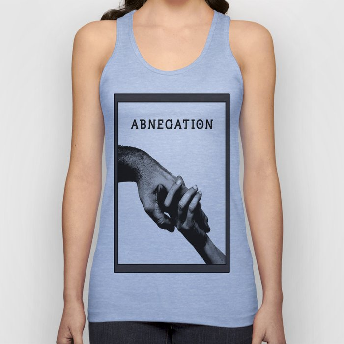ABNEGATION - DIVERGENT (draw by me) Unisex Tank Top