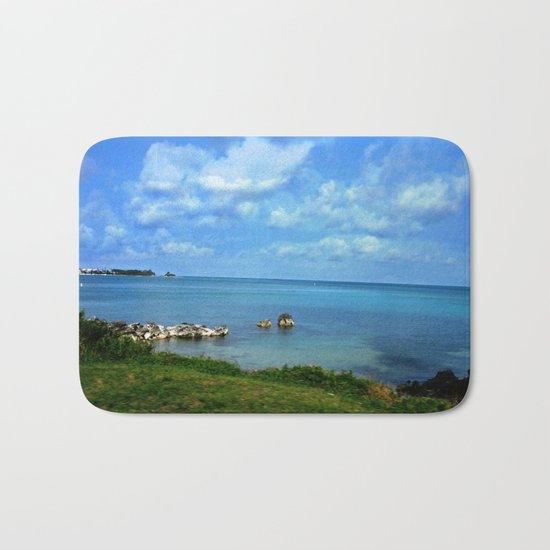Island of Bermuda Bath Mat