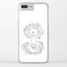 At Rest Clear iPhone Case