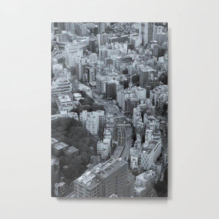 Tokyo from the Mori Tower Metal Print