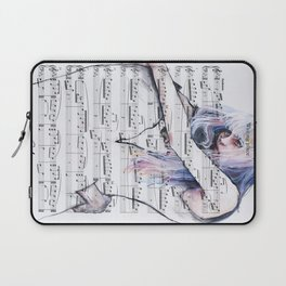 Waiting Place on sheet music Laptop Sleeve