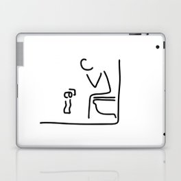 toilet digestion irritant bowel Laptop & iPad Skin