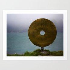 Art on the Shore Art Print