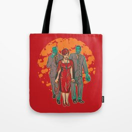 Walking MadMen Tote Bag