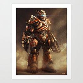 The Juggernaut Art Print
