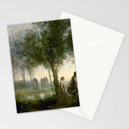 "Jean-Baptiste-Camille Corot ""Orpheus Leading Eurydice from the Underworld"" Stationery Cards"