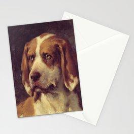 Vintage Portrait Of A Dog Stationery Cards