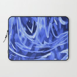 Floating In A Sea Of Blue Laptop Sleeve