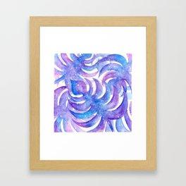 Monsteras in Space Framed Art Print