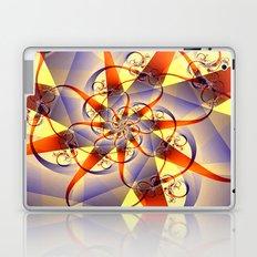 Ribbon and Swirl Laptop & iPad Skin