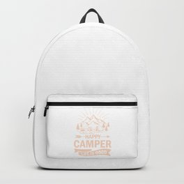 Happy Camper Life Is Good co Backpack