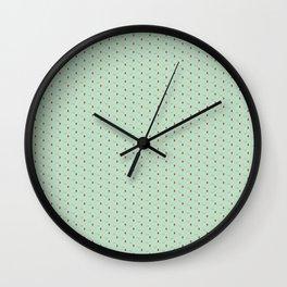 Latte e Menta Wall Clock