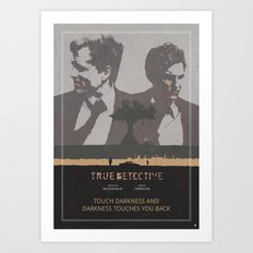 Poster True Detective 3 Art Print