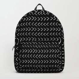 Arrows on Black Backpack
