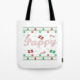 Pappy Christmas Tote Bag