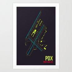 PDX Art Print