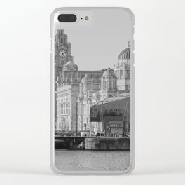 Three Graces Liverpool Clear iPhone Case