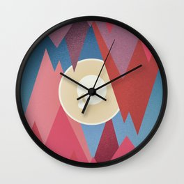 Cry. Cave Wall Clock
