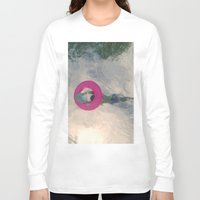 diver Long Sleeve T-shirts featuring diver by signe constable