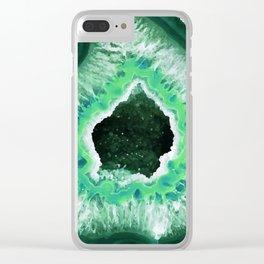 Agate 3 Clear iPhone Case
