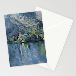 """Paul Cezanne """"The Lac d'Annecy"""", 1896 Stationery Cards"""