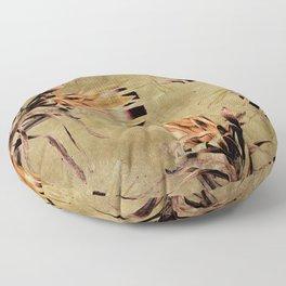 Vintage White Pride Proteas Floor Pillow