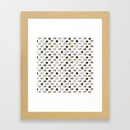 Sushi Lovers Framed Art Print