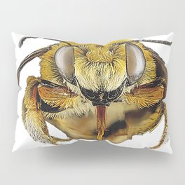 Bee Full Body Flying Sting Yellow Danger Insect Pillow Sham