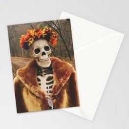 Autumn-Winter Princess Stationery Cards