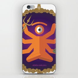 sh.eye.va iPhone Skin