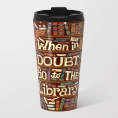 Go to the library Metal Travel Mug