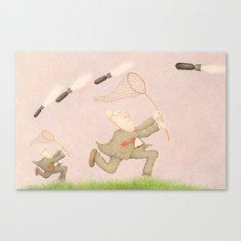 """Whoosh!"" Canvas Print"