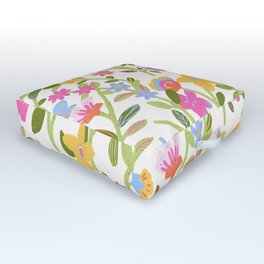 Colorful Wonderland Outdoor Floor Cushion