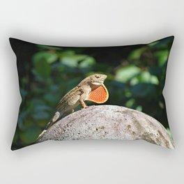 Hawaiian Lizard Rectangular Pillow