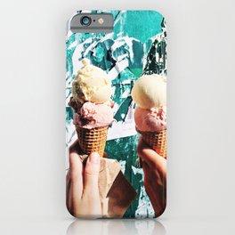 I scream for ice cream iPhone Case