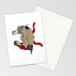 FitzSimmons get a Puppy Stationery Cards