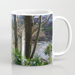 Walk on the River Bank Coffee Mug