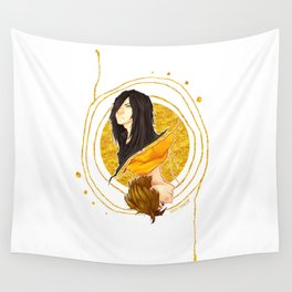 The Shadow of a Broken Dream Wall Tapestry