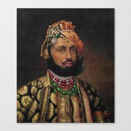 MAHARAJA PORTRAIT Canvas Print
