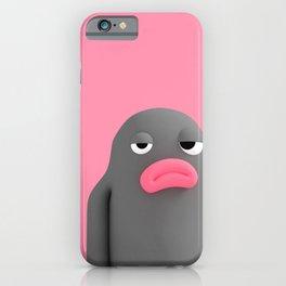 Lars Irritated Pink iPhone Case