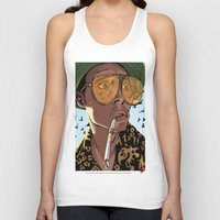 fear and loathing Tank Tops featuring DEPP: Fear and Loathing in Bat Country by ThatJokerGuy