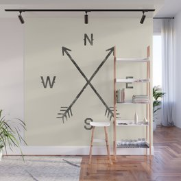Compass (Natural) Wall Mural