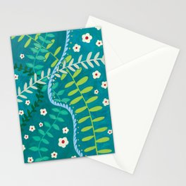Tangled Vines Stationery Cards