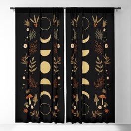 Autumnal Night Blackout Curtain