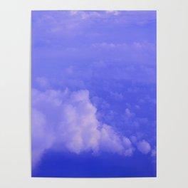 Aerial Blue Hues I Poster