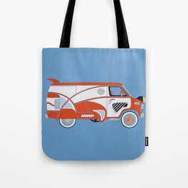 Pee Wee's Big Adventure Van Tote Bag