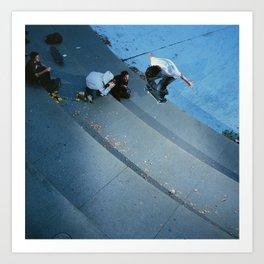 Brian Wenning 2001' Art Print