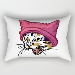 The Cat in the Hat (Calico) Rectangular Pillow