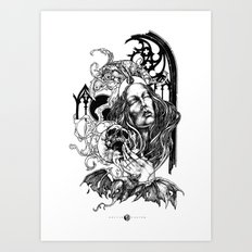 Night Overture Art Print